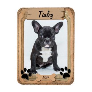 Family Pet Photo Template Rectangular Photo Magnet