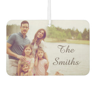 Family Photo Air Freshener