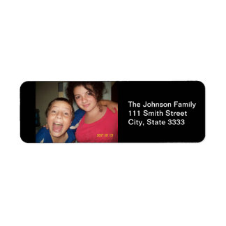 Family Photo Custom Address Labels
