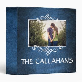 Family Photo Scrapbook Album•Celestial Blue 3 Ring Binder