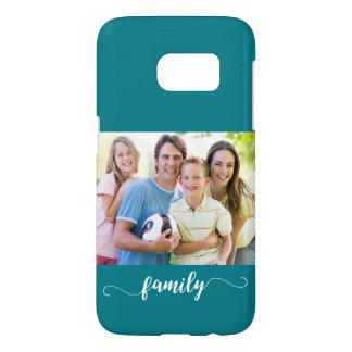 Family Photo Template Design Samsung Galaxy S7 Case