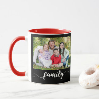 Family Photo Template Photo Mugs
