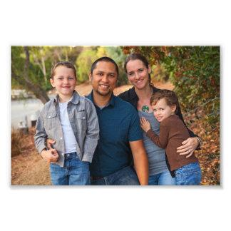 Family Portrait 5x7 Landscape Photo