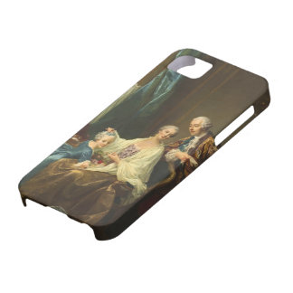 Family Portrait By François-Hubert Drouais iPhone 5 Cover