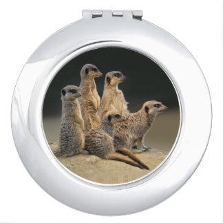 Family Portrait Compact Mirror