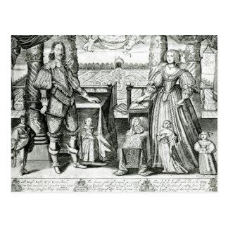 Family Portrait of Charles I Postcard