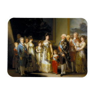 Family portrait of King Charles IVJose de Goya Magnet