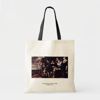 Family Portrait Of Ten People By Hals Frans Tote Bag