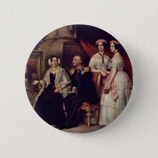 Family Portrait Of The Duke Joseph Of Saxe-Altenb 2 Inch Round Button