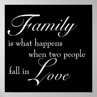 Family Print