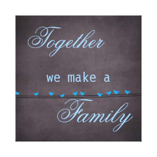 Family Quote Canvas Print