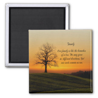 FAMILY QUOTE MAGNET