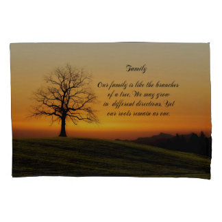 FAMILY QUOTE PILLOWCASE