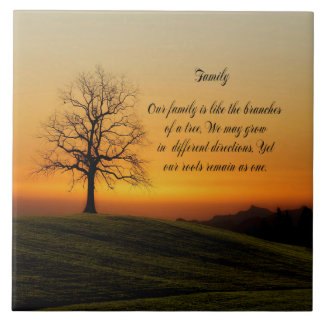 FAMILY QUOTE TILE