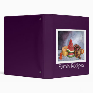 Family Recipes - Fruit Still-life Binders