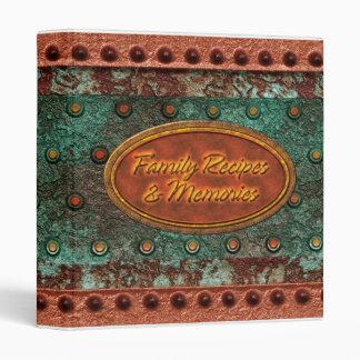 Family Recipes & Memories 1 3 Ring Binder