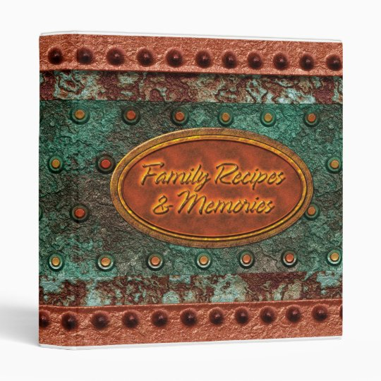Family Recipes & Memories 1 Vinyl Binder