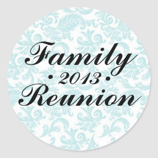 Family Reunion 2013 Sticker Sheet
