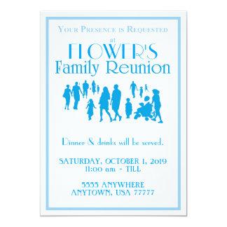 Family Reunion 5x7 invite w/envelopes