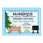 Family Reunion Barbeque Invitations