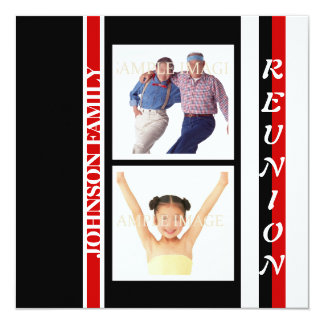 """Family reunion """"class of"""" party card"""