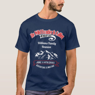 Family Reunion Cruise Alaska Adventure T-Shirt