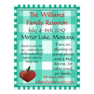 Family Reunion Flier Flyer