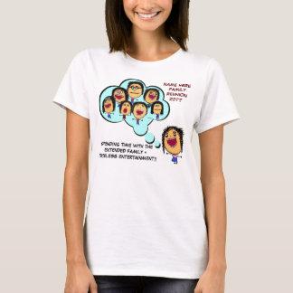Family Reunion Funny Cartoon T-Shirt