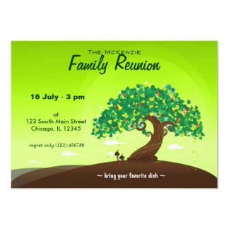 Family Reunion (Green) Announcements