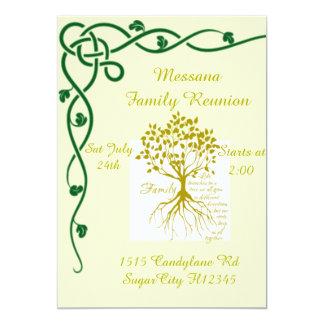 "Family Reunion 5"" X 7"" Invitation Card"