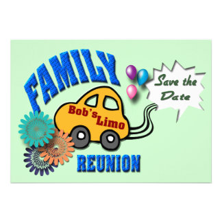 Family Reunion Announcements