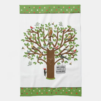 Family Reunion Kitchen Towel