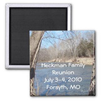 Family Reunion Magnet-customize Square Magnet