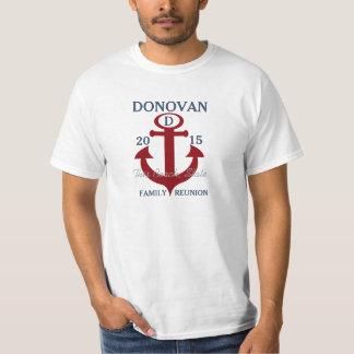 Family Reunion Nautical Anchor Tee Shirts