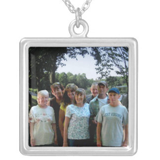 Family Reunion Photo Gift Pendant