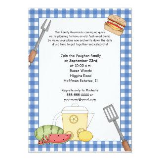 Family Reunion Picnic Invitation
