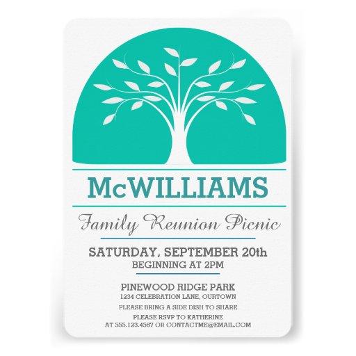 Family Reunion Picnic Personalized Invitation