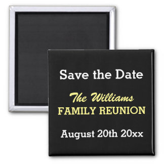 Family reunion Save the date magnets