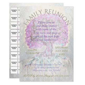 Family Reunion w/ Instagram Photo Back Card