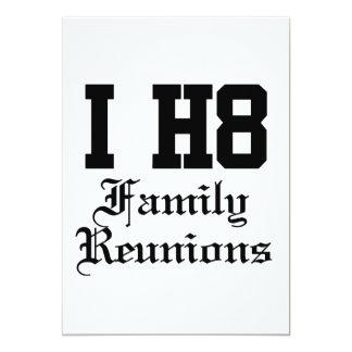 "family reunions 5"" x 7"" invitation card"