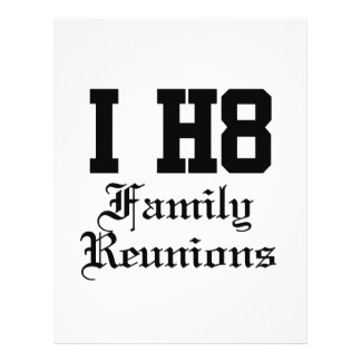family reunions flyers