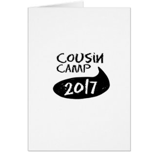 Family  Reunions for Grandparents Camp Card