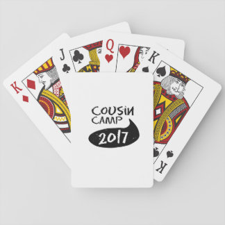 Family  Reunions for Grandparents Camp Playing Cards