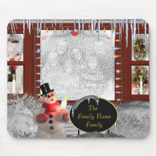 Family s Season s Greetings Mouse Pad