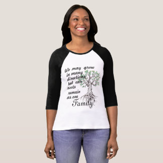 Family shirt, Roots as one T-Shirt