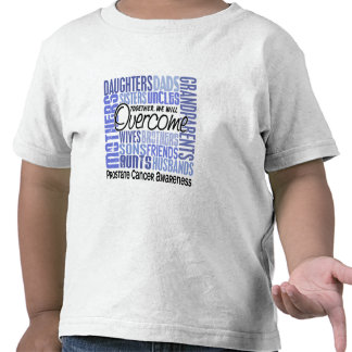 Family Square Prostate Cancer Tee Shirts