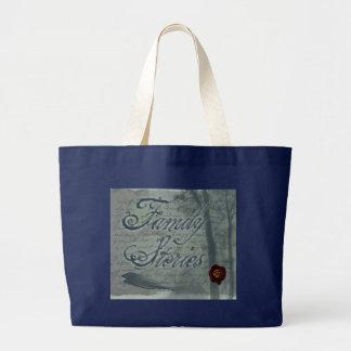 Family Stories Logo Large Tote Bag