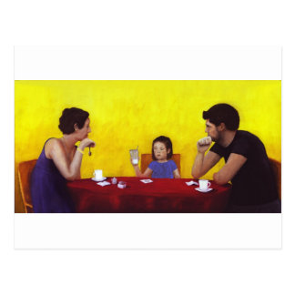 Family Time Postcard