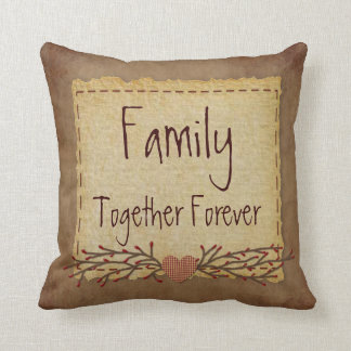 Family Together Forever Pillow
