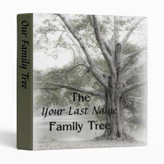 Family Tree Album Binder
